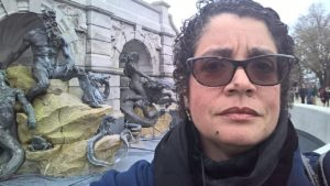 In front of the Library of Congress, my favorite place in Washington D. C. Never mind the Supreme Court is next door and the Capitol right across the street.