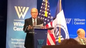 Professor Gorodetsky at the Woodrow Wilson Center. Another book into my must read collection.