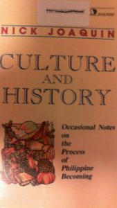 Nick Joaqui's anthology Culture and History